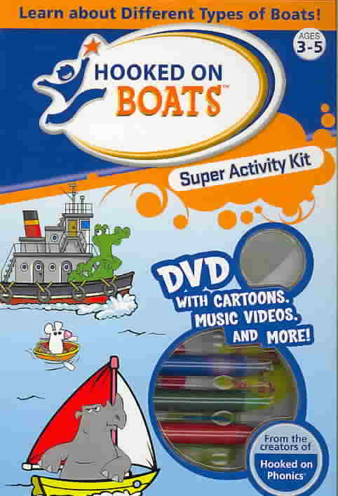 HOOKED ON BOATS SUPER ACTIVITY KIT (DVD)